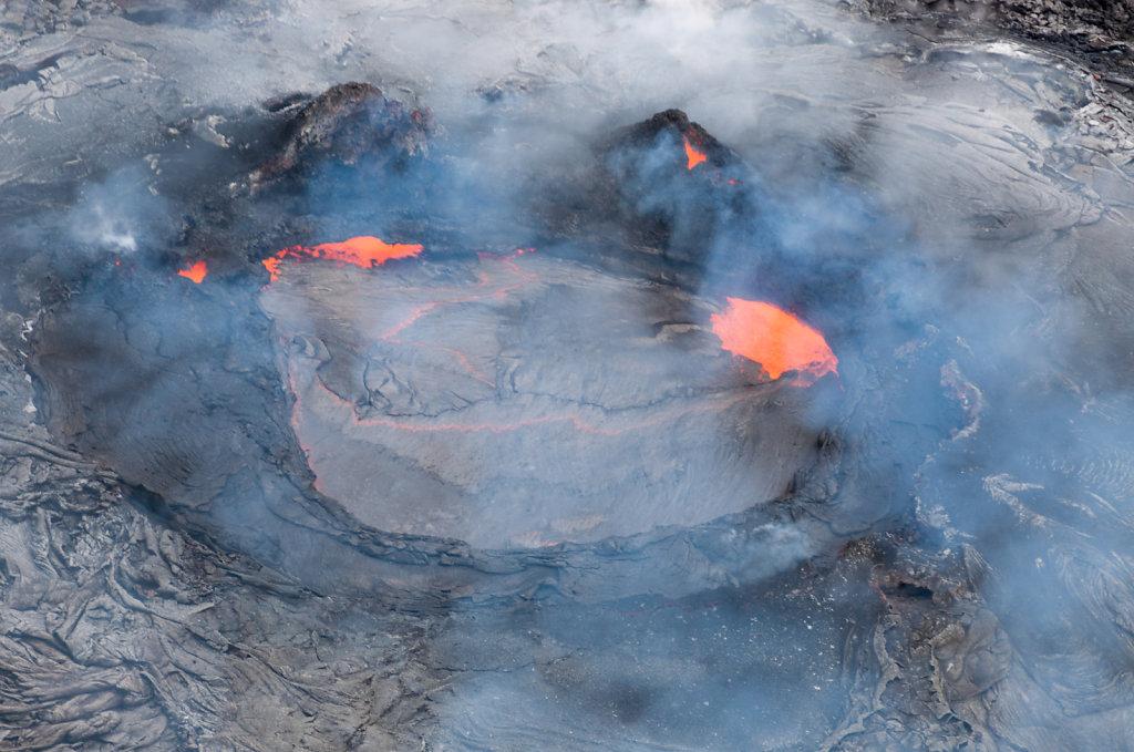 Lava Face - Kilauea Vulkan Big Island
