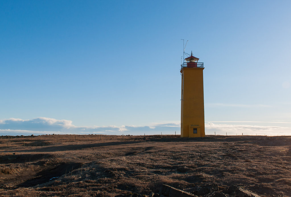 Lighthouse auf Island