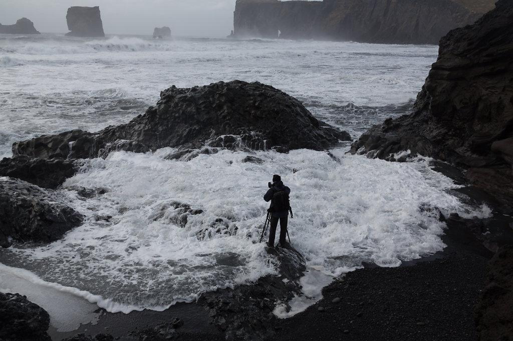 Nasse Füsse auf Island