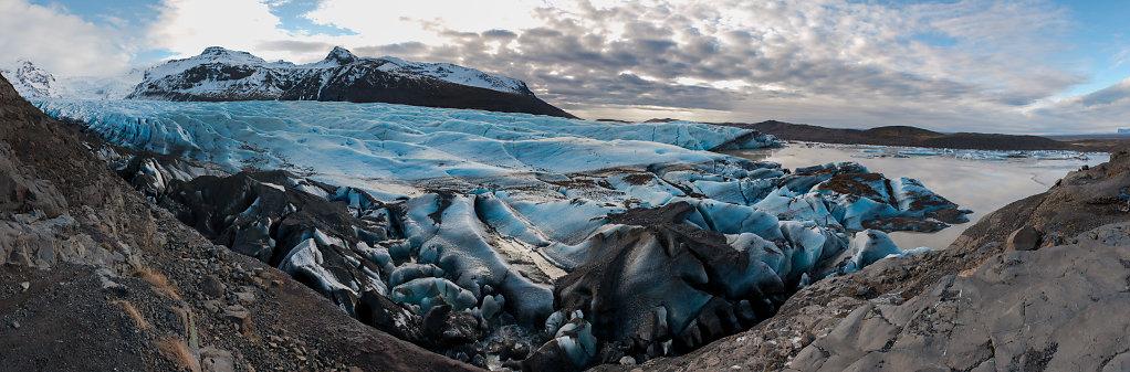 Svinafellsjökull Panorama